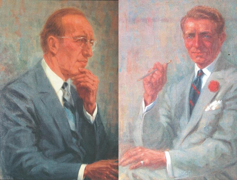 David (right) and Alfred (left) Smart