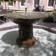 """International House Fountain"""