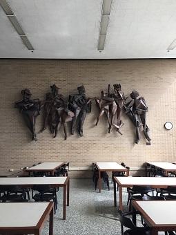 Image of Abbott Pattison's Procession sculpture