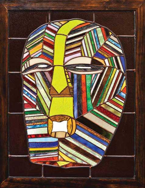 Theodore Feaster, Congolese Mask, 2011.