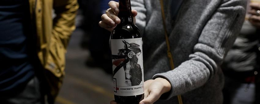 Image of bottle of Arcade Brewery's Concrete Traffic beer