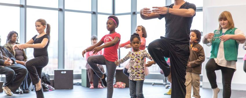 Family Saturday Dance Workshop