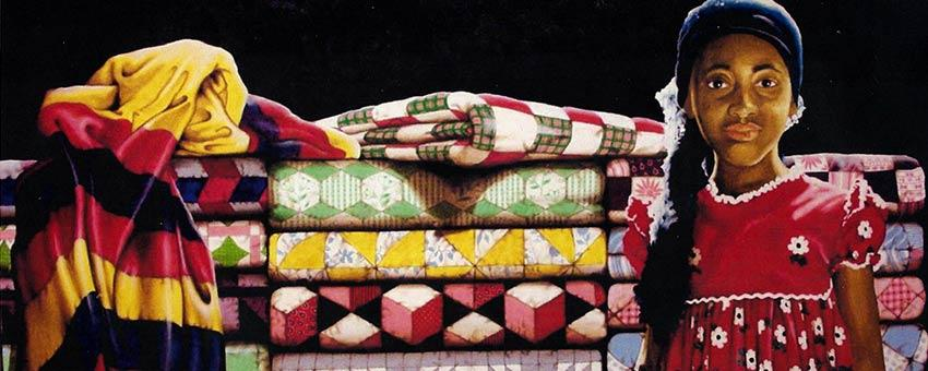 Gerald Sanders, 'Quilts for Sale'