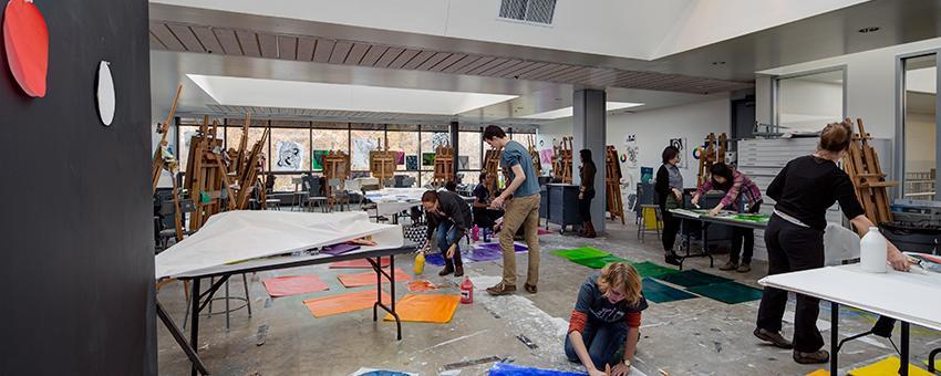 Painting Studio Classroom