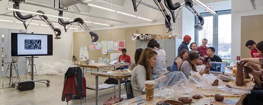 Sculpture Studio Classroom