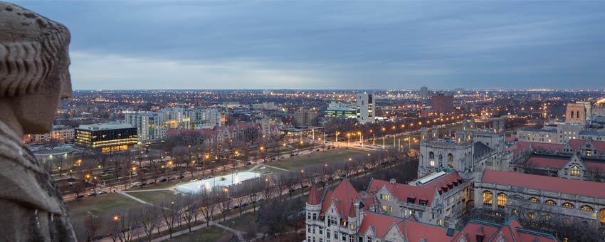 Campus view of Logan