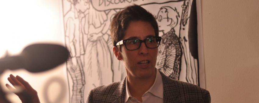 Alison Bechdel, Mellon Fellow for Arts Practice & Scholarship