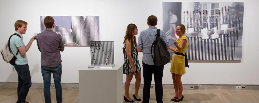 2012 MFA exhibition reception