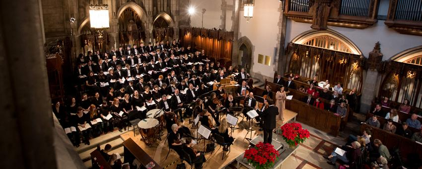 Annual performance of Handel's Messiah