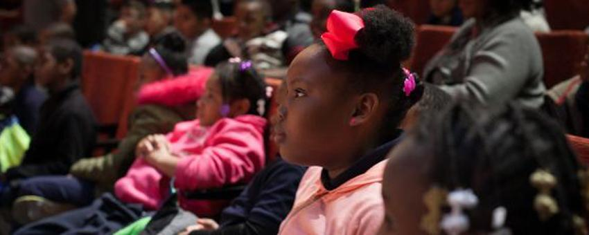 CPS Students during a 2018 CPS Matinee