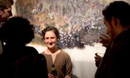 BA 2012: Sarah Mendelsohn with her work