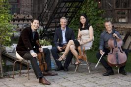 Pacifica Quartet, photo © Anthony Parmelee