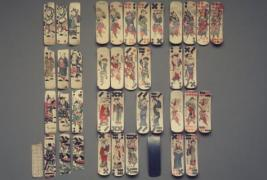 Domino Cards or Actor Cards with Scenes from Peking Opera Plays. Courtesy Brooklyn Museum of Art, New York.