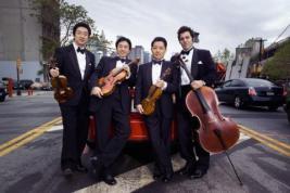Shanghai Quartet. Photographer Bard Martin.