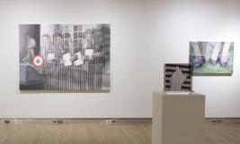 Installation view of work by Anna Elise Johnson