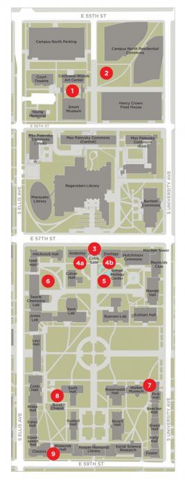 Chicago Sound Show map