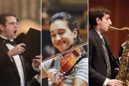 2016 Concerto Competition Winners