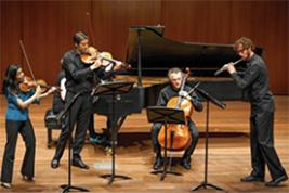 Members of Pacifica Quartet and eighth blackbird, shown in 2015, were part of a Contempo series concert Monday that featured new and relatively new Polish music at the University of Chicago. (Jason Smith photo)