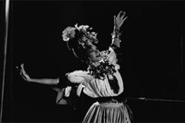 Katherine Dunham (Photo by Roger Woods, courtesy of the New York Public Library Digital Collections)