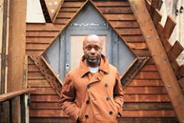Theaster Gates (photo by Max McClure, NY Times)