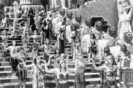 """From the 1916 D.W. Griffith film """"Intolerance"""""""