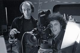 Jerry Blumenthal, AB'58, AM'59, and Gordon Quinn, AB'65, in the 1970s. (Photo courtesy Kartemquin Films)