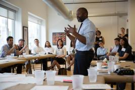 Theaster Gates at Place Lab workshop