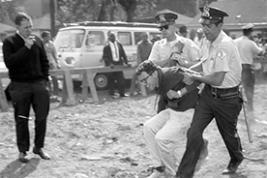 Bernie Sanders Arrested in 1963 (Chicago Tribune archive)