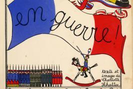 Charlotte Schaller[-Mouillot], 1914, 'En guerre!,' Paris: Berger-Levrault